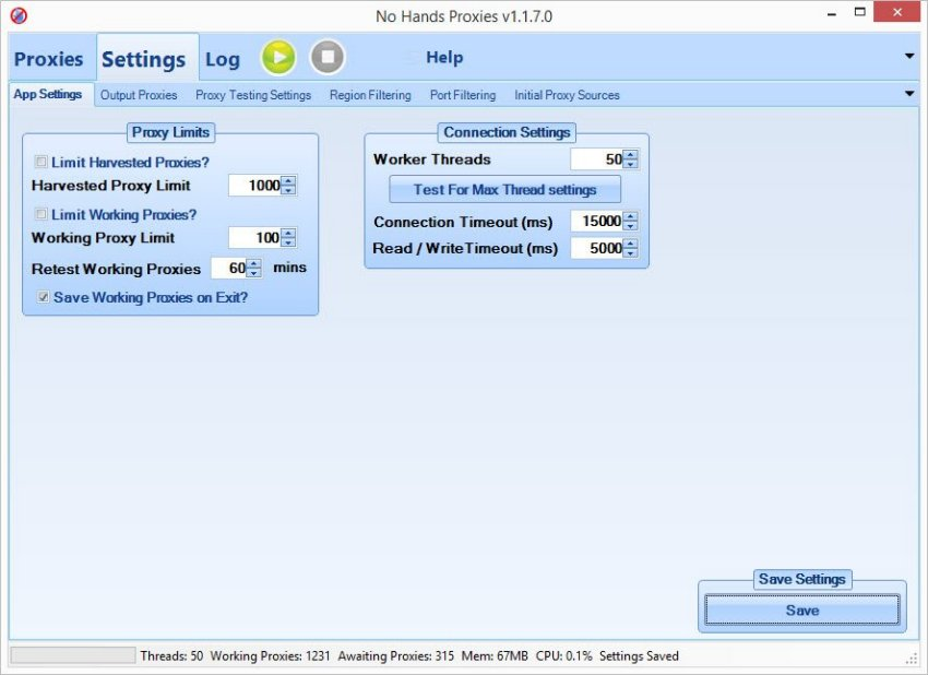 No Hands Proxies - The best Proxy Checker Havester Online